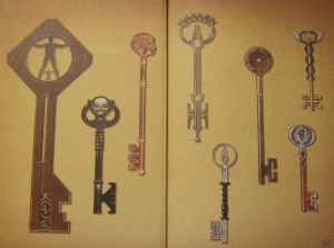 giant key ghost key head key anywhere key shadow key echo key gender key healing key